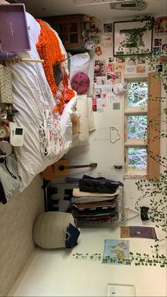 Room Design Bedroom, Room Ideas Bedroom, Bedroom Inspo, Bedroom Decor, Cute Room Decor, Indie Room Decor, Uni Room, Pretty Room, Aesthetic Room Decor