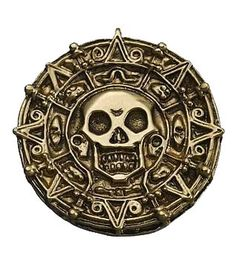 Pirates of the Caribbean The Curse of the Black Pearl - Cursed Aztec Gold Piece