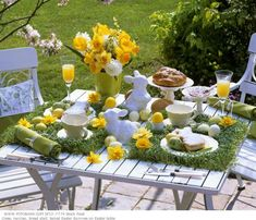 Spring table - very cute