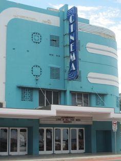 Art Deco Cinema ,, North Sydney AUSTRALIA.