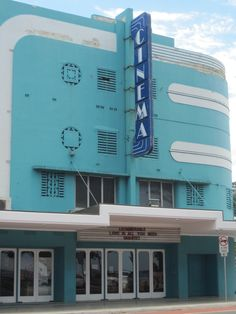 Art Deco Cinema ,, North Sydney AUSTRALIA.