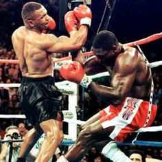 Mike Tyson destroyed his opponents when his boxing career began in earnest…