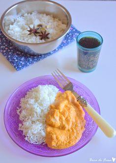 ... ♥ Boca de Fresa: Curry korma de pollo  http://www.bocadefresa.net/2014/05/un-viaje-hacia-las-especias-korma-de.html