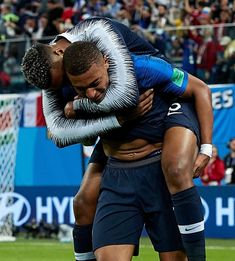 – – Kylian and presnel kimpembe after the victory against Belgium KimPembe 3 – – – : quality sport image – – – Cristiano Ronaldo Lionel Messi, Neymar Jr, Mbappe Psg, France Outfits, Manchester United Soccer, Manchester City, Alex Morgan Soccer, Sports Images, Action Poses