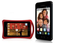 "Vinci Tab MV 5"" Tablet & Phone Combo - Combo smartphone, tablet, and childhood learning device with dual-SIM support."