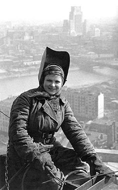 Dmitri Baltermants, Steel Worker - Moscow, May 1953