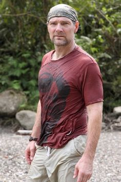 The tough guy, Les Stroud