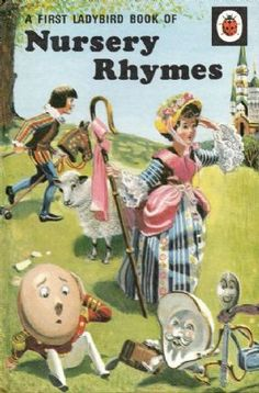 FIRST BOOK OF NURSERY RHYMES Vintage Ladybird Book Tales and Rhymes. I had so many Ladybird books when I was a kid. I have no idea what happened to them all. Either in my mum's attic or ruined by my kid sister? 1970s Childhood, My Childhood Memories, Childhood Toys, Nice Memories, School Memories, Up Book, Book Art, Ladybird Books, Vintage Nursery