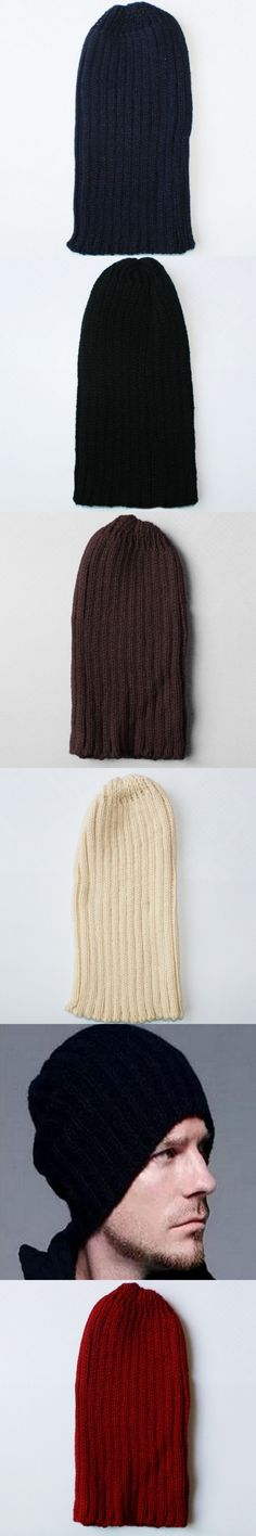 2018 Knitted Hat Fashion Men And Women Autumn And Winter Wool Hat Warm Hedge Hat M011