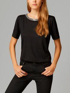 FANTASY NECKLINE T-SHIRT - Short sleeved - T-shirts - WOMEN - United Kingdom