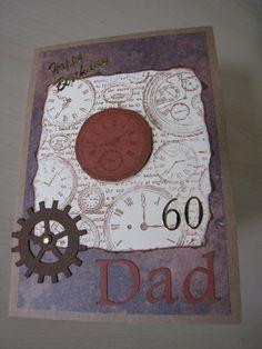 60th Birthday card for my dad