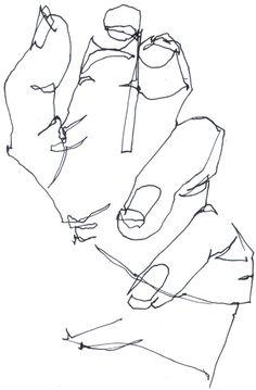 Blind+contour+hand432.jpg (428×652)