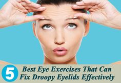 If you have droopy eyelids and want to get rid of it as soon as possible then you can try face yoga for droopy eyelids treatments. These are very easy to apply face yoga for drooping eyelids at your home, so just try them and see the results. Saggy Eyes, Droopy Eyes, Makeup For Droopy Eyelids, Skin Care Regimen, Skin Care Tips, Drooping Eyelids, Dry Eyes Causes, Face Exercises, Eyes Problems