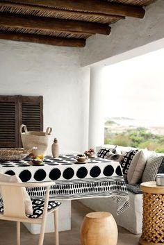 Patios y balcones pequeños muy acogedores