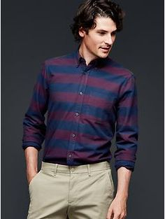 Rugby oxford shirt | Gap Large Size