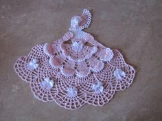 For color inspiration. Crinoline Lady Doily by ElisaleesCreations on Etsy, $15.00