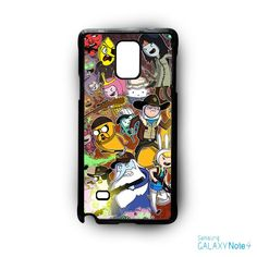 Adventure Time The Walking Dead for Samsung Galaxy Note 2/Note 3/Note 4/Note 5/Note Edge phone case