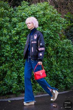 Olga Karput Street Style Street Fashion Streetsnaps by STYLEDUMONDE Street Style Fashion Photography