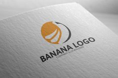 Banana Logo by josuf on Creative Market