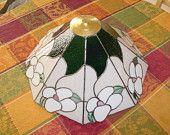 "19"" diameter Tiffany style Dogwood lamp shade"