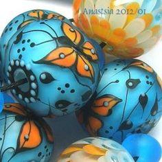 Butterflies by Anastasia beads.  Beautiful as always.