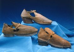 Shoes belonging to Gustavus Adolphus, early 1630s