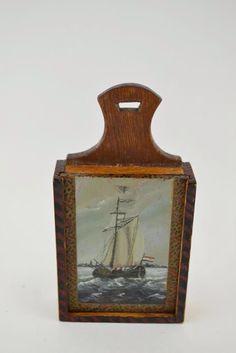 Hindelooper schoolbag antique Dutch.