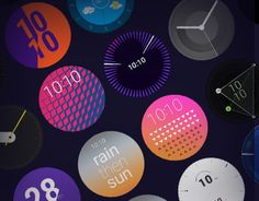 ustwo partnered with Google to deliver pioneering watch faces for Android Wear and in doing so set a new benchmark for watch face design and redefined the representation of time.