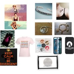 """""""I'm a #divergent freak"""" by abby246 on Polyvore"""