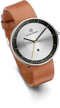 Jacob Jensen Strata Series, Gents, Steel, 271 der offizielle Shop
