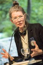 Poesiegespräch mit Lisa Robertson (c) Mike Schmidt
