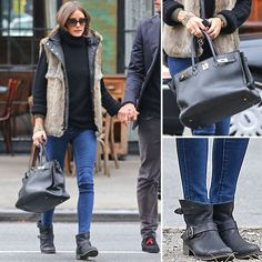 Olivia Palermo is giving us the best Fall layering inspiration right now.