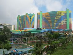 Genting Highlands - First World Hotel is seldom fully booked as it is one of the largest hotel in the world. http://firstworld-hotel.com