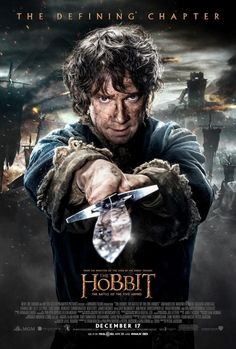 Check out the first character poster for The Hobbit: The Battle of the Five Armies
