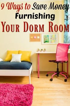Not sure where to start on your hunt for college dorm necessities? There are many ways to save money on the dorm room essentials (9 ways to be exact!) What ways did you think of that I didn't?