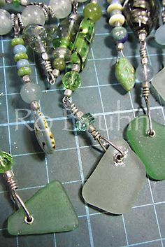 Ro Bruhn - some of my drilled sea glass.