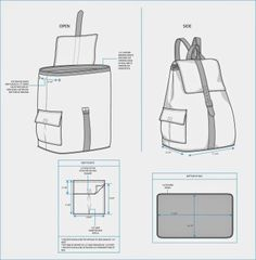 Sample Fashion Project: Backpack Teck Pack - Glipho