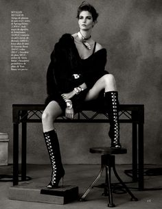 Kendra Spears | Photography by Ben Weller | For Vogue Magazine Spain | February 2013