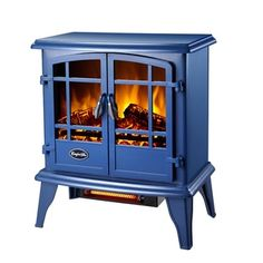 $139 23H x 20W x 11D...Shop for CG Keystone Quartz Electric Stove Blue. Get free delivery at Overstock.com -