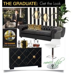 THE GRADUATE: Get the Look, created by zunigainteriorsdesignstudio on Polyvore