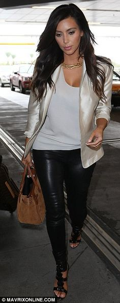 Kim K love this outfit