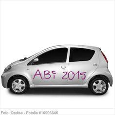 Autoaufkleber und Sticker - ABI 2015