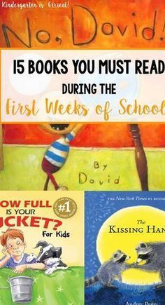 Best Books for the First Week of School