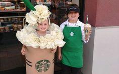Starbucks Kostüm selber machen