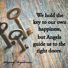 Angels Guide us to the right door