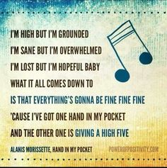 Alanis morissette so unsexy meaningful quotes