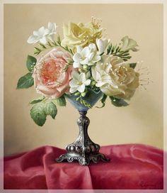 #Vintage_roses #handmade #vintage #flowers #ручная_работа #винтаж #цветы #винтажные_картинки #vintage_pictures #своими_руками #розы #roses #vintage_flowers