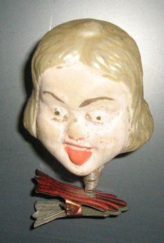 ANTIQUE 1900's GERMAN  Glass Ornament