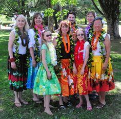 The Heart of Aloha (Ka Pu'uwai o Aloha) dancers at Lake Lure NC May 2015