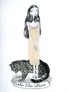 Katy Smail- Calvin Klein
